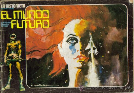 Tebeos: LA HISTORIETA PRESENTA LA SERIE EL MUNDO FUTURO ( URSUS ) ORIGINAL 1973 LOTE - Foto 9 - 26924353