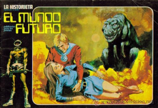 Tebeos: LA HISTORIETA PRESENTA LA SERIE EL MUNDO FUTURO ( URSUS ) ORIGINAL 1973 LOTE - Foto 10 - 26924353