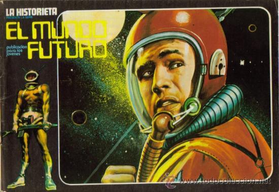 Tebeos: LA HISTORIETA PRESENTA LA SERIE EL MUNDO FUTURO ( URSUS ) ORIGINAL 1973 LOTE - Foto 11 - 26924353