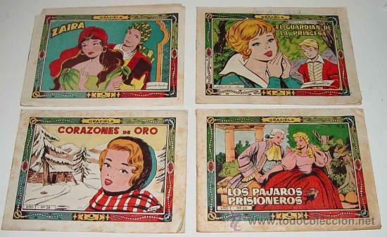 LOTE DE 4 TEBEOS DE LA GRACIELA - Nº 6, 156, 28, 26 - ED. TORAY. (Tebeos y Comics - Toray - Graciela)