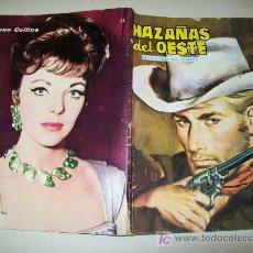 Tebeos: HAZAÑAS DEL OESTE - Nº 45 - TORAY - 1959 - JOAN COLLINS. Lote 26660832