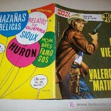 Tebeos: SIOUX - Nº 116 - TORAY - 1968 - MUY BUENO - DEFINITIVO. Lote 24983725