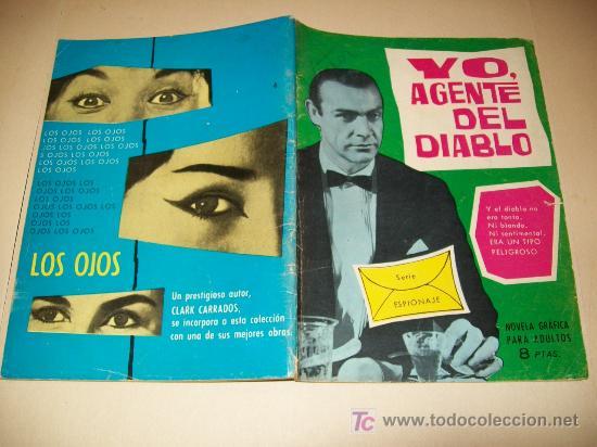 LC 98 - ESPIONAJE - TORAY - Nº 4 - 1965 (Tebeos y Comics - Toray - Espionaje)