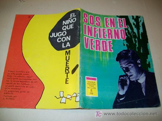 LC 96 - ESPIONAJE - TORAY - Nº 35 - 1966 - EJEMPLAR DEFINITIVO (Tebeos y Comics - Toray - Espionaje)