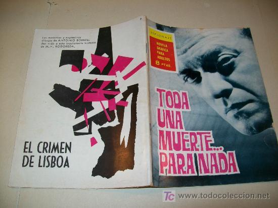 LC 102 - TORAY - Nº 9 - 1965 - EJEMPLAR DEFINITIVO (Tebeos y Comics - Toray - Espionaje)