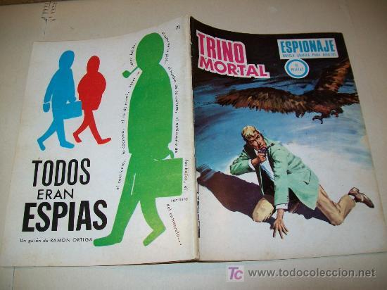LC 94 - ESPIONAJE - TORAY - Nº 71 - 1967 - EJEMPLAR DEFINITIVO (Tebeos y Comics - Toray - Espionaje)