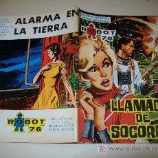 Tebeos: ROBOT 76 - TORAY - Nº 6 - 1967 - BUENO. Lote 24810262