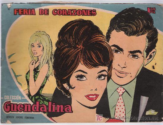 GUENDALINA Nº 57 (Tebeos y Comics - Toray - Guendalina)