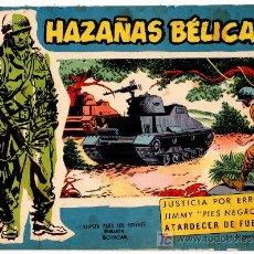 Tebeos: HAZAÑAS BELICAS EXTRA AZUL Nº 119, BOIXCAR . Lote 14386865