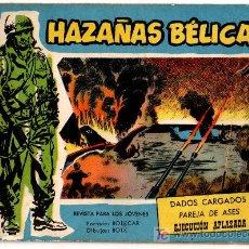 Tebeos: HAZAÑAS BELICAS EXTRA AZUL Nº 198, BOIXCAR . Lote 14387200
