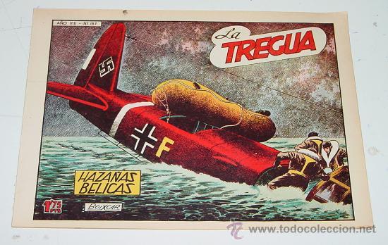 HAZAÑAS BELICAS N.187 - LA TREGUA - ILUSTRADO POR BOIXCAR - EDITORIAL TORAY. (Tebeos y Comics - Toray - Hazañas Bélicas)