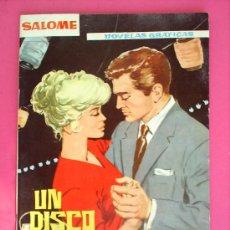 Tebeos: NOVELAS GRAFICAS ,--SALOMEN.15 -1962 , EDICIONEAS TORAY. Lote 14896029