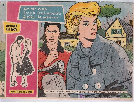 SUSANA EXTRA Nº 9. (Tebeos y Comics - Toray - Susana)