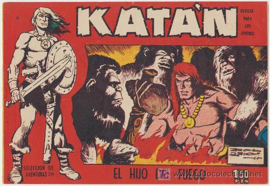 KATÁN Nº 11. (Tebeos y Comics - Toray - Katan)