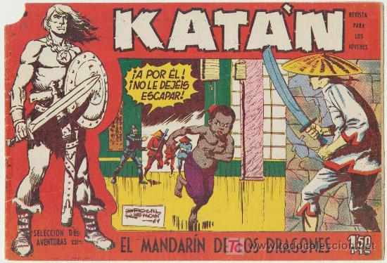 KATÁN Nº 28. (Tebeos y Comics - Toray - Katan)