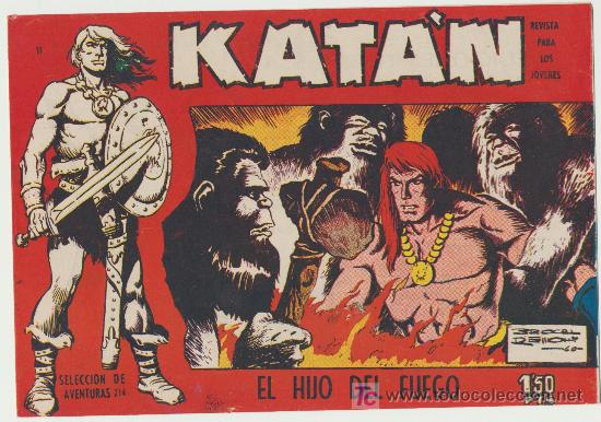 KATÁN Nº 11. SIN ABRIR (Tebeos y Comics - Toray - Katan)