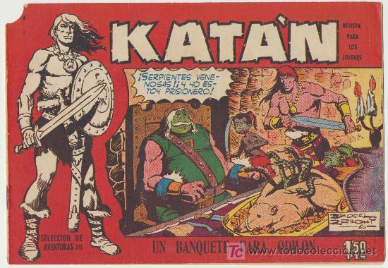 KATÁN Nº 8. TORAY 1960. (Tebeos y Comics - Toray - Katan)