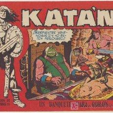 Tebeos: KATÁN Nº 8. TORAY 1960.. Lote 25445542