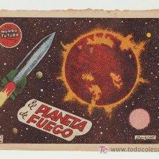 Tebeos: EL MUNDO FUTURO Nº 31. TORAY 1955.. Lote 25700832