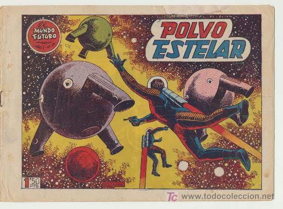 EL MUNDO FUTURO Nº 13. TORAY 1955. (Tebeos y Comics - Toray - Mundo Futuro)