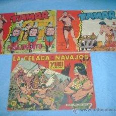 Tebeos: DOS COMICS DE TAMAR Y 1 DE YUKI EL TEMERARIO. Lote 26584268