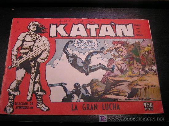 KATAN Nº 5 EDICIONES TORAY ORIGINAL EDICIÓN 1958 (Tebeos y Comics - Toray - Katan)