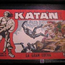 Tebeos: KATAN Nº 5 EDICIONES TORAY ORIGINAL EDICIÓN 1958 . Lote 18820633