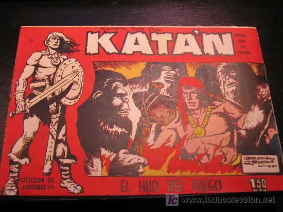 KATAN Nº 11 EDICIONES TORAY ORIGINAL 1960 EAC (Tebeos y Comics - Toray - Katan)