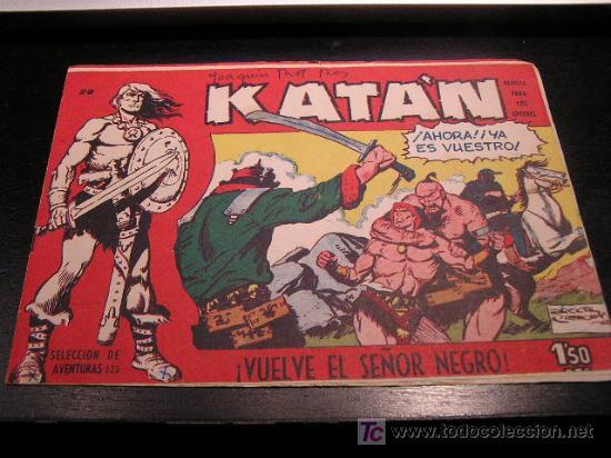 KATAN Nº 20 EDICIONES TORAY ORIGINAL 1960 EAC (Tebeos y Comics - Toray - Katan)
