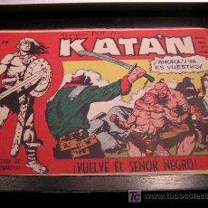 Tebeos: KATAN Nº 20 EDICIONES TORAY ORIGINAL 1960 EAC. Lote 20697614