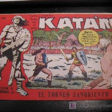 BDs: KATAN Nº 40 EDICIONES TORAY ORIGINAL 1961 EAC. Lote 20867909