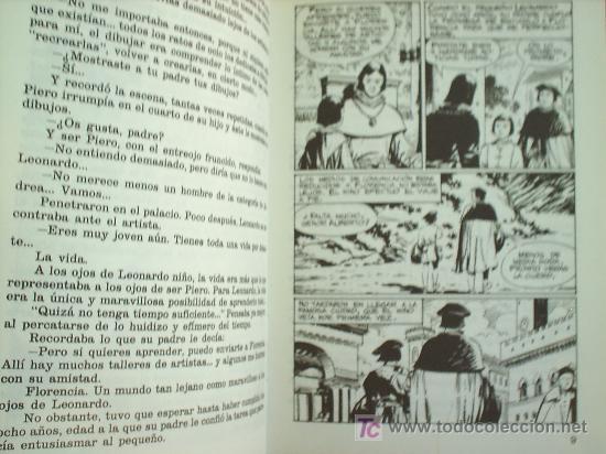Tebeos: HOMBRES FAMOSOS N.6 LEONARDO DA VINCI , 1978 EDICIONES TORAY - Foto 3 - 21808374