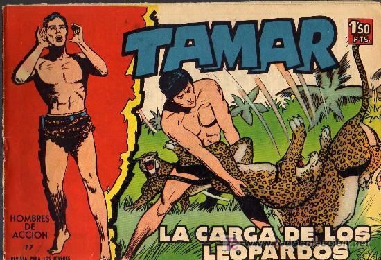 TAMAR - Nº 17 - BORRELL/ACEDO - EDICIONES TORAY 1961 - ORIGINAL, NO FACSIMIL (Tebeos y Comics - Toray - Tamar)