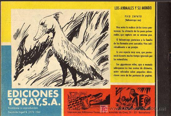 Tebeos: TAMAR - Nº 36 - BORRELL/ACEDO - EDICIONES TORAY 1961 - ORIGINAL, NO FACSIMIL - Foto 2 - 16002431