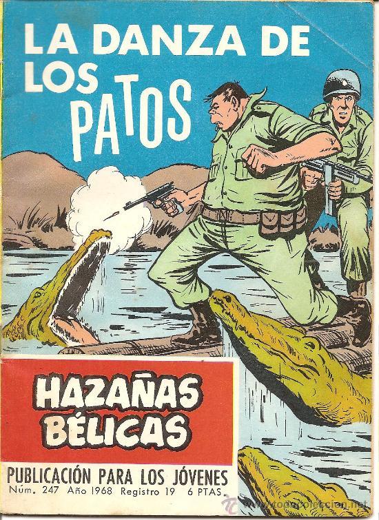 COHAZAÑAS BELICAS Nº 274 LA DANZA DE LOS PATOS (Tebeos y Comics - Toray - Hazañas Bélicas)