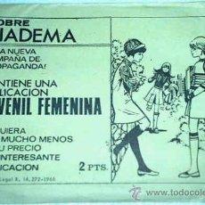 Tebeos: SOBRE SORPRESA DIADEMA - TORAY 1968 - CONTIENE TEBEO - SOBRE SIN ABRIR- IMPORTANTE LEER. Lote 16400606