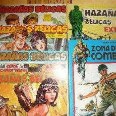 Tebeos: HAZAÑAS BELICAS 6 TOMOS (4 CAPITULOS EN CADA TOMO). Lote 26364100