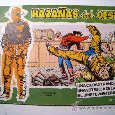 Tebeos: HAZAÑAS DEL OESTE Nº 5 - TORAY - TEBEO ORIGINAL. Lote 147277978
