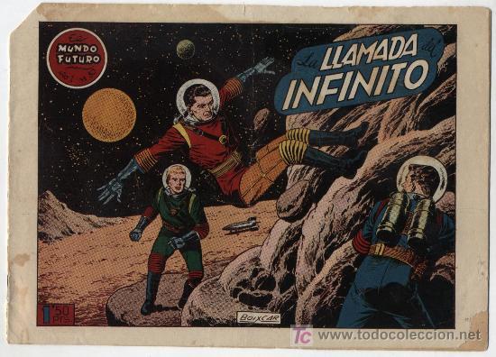 EL MUNDO FUTURO Nº 30. TORAY 1955. (Tebeos y Comics - Toray - Mundo Futuro)