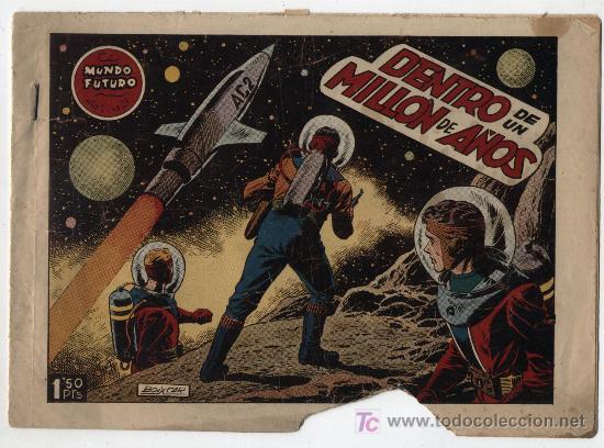 EL MUNDO FUTURO Nº 27. TORAY 1955. (Tebeos y Comics - Toray - Mundo Futuro)