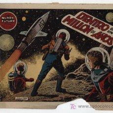 Tebeos: EL MUNDO FUTURO Nº 27. TORAY 1955.. Lote 17121191