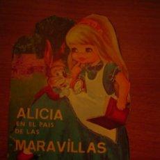 BDs: CUENTO TROQUELADO VILMAR -- ALICIA EN EL PAIS DE LAS MARAVILLAS. Lote 17163274