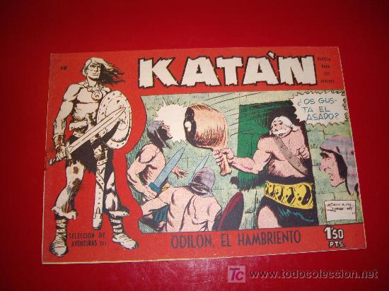 KATAN Nº 18 ORIGINAL (Tebeos y Comics - Toray - Katan)