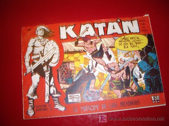KATAN Nº 35 ORIGINAL (Tebeos y Comics - Toray - Katan)