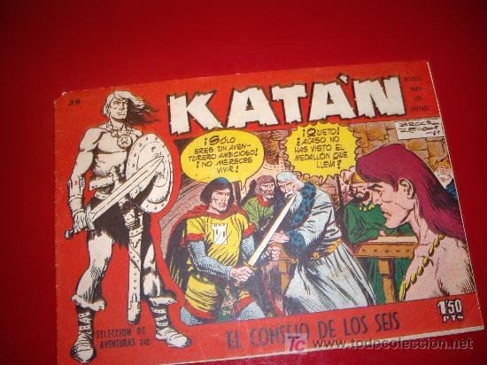 KATAN Nº 39 ORIGINAL (Tebeos y Comics - Toray - Katan)