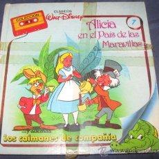 Tebeos: QUEX 1 EURO TEBEOS - COMIC - CUENTOS WALT DISNEY ALICIA EN EL PAIS DE LAS MARAVILLAS. Lote 17408313
