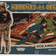 Tebeos: HAZAÑAS DEL OESTE AZUL Nº 14. TORAY 1959.. Lote 17558683