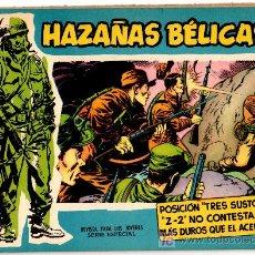 Tebeos: HAZAÑAS BELICAS EXTRA AZUL Nº 36, MAGNIFICO ESTADO. Lote 17552396