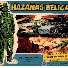 Tebeos: HAZAÑAS BELICAS EXTRA AZUL Nº 126, MAGNIFICO ESTADO. Lote 17552674