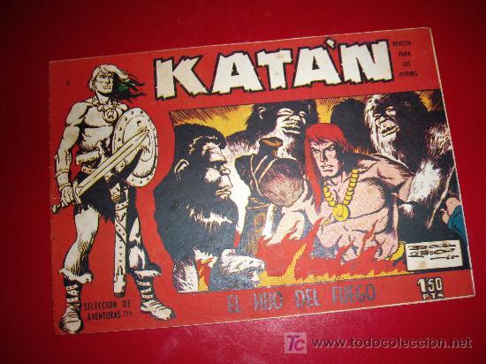 KATAN Nº 11 ORIGINAL (Tebeos y Comics - Toray - Katan)